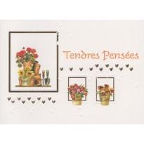 """Cartes """"Tendres Pensées"""""""
