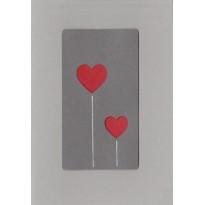 Cartes faites main Saint Valentin, choix de cartes