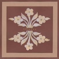 Fleurs en découpes sur cartes faites main