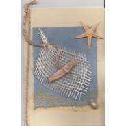 Cartes Etoiles de mer, fabrication artisanale
