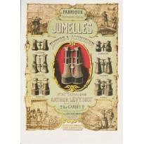 """Carte publicitaire """"Jumelles"""""""
