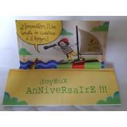 Cartes d'anniversaires 3D, tempête de cadeaux en vue