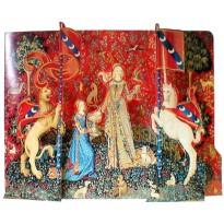 Maquette papier La Dame à la Licorne