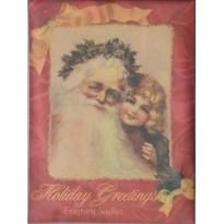 Sachets parfumés Epices de Noël, décors Noels anglais