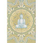 Bouddha, carte de correspondance