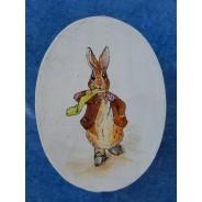 Pierre Lapin, boite décorative peinte à la main