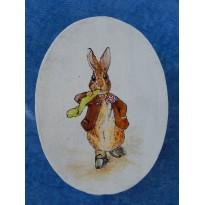 Benjamin Lapin, boite décorative peinte à la main