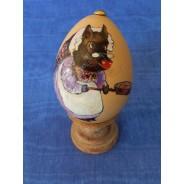 Oeufs de Pâques décorés à la main : sujets Beatrix Potter