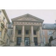 Carte Palais de Justice de Poitiers