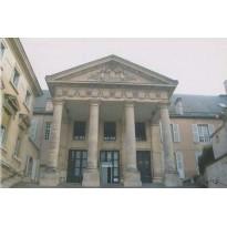 Carte Palais de Justice de Poitiers et détail chapiteau