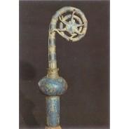 Crosse cuivre émaillé du 13 ème siècle, carte postale