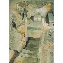 Hypogée des Dunes-chambre funéraire-Poitiers, carte postale
