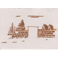 Paysages de paille, cartes correspondance