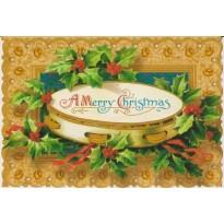 Tambourin de Noël, carte de Joyeux Noël