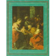 La Crèche de Philippe de Champaigne reproduction sur carte d'art