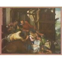 Adoration des Bergers de Paolo Veronese, carte d'art
