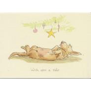 Wish upon a star, Faire un voeu sous les étoiles, carte de Noël