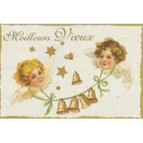 Mini carte de voeux, reproduction cartes anciennes