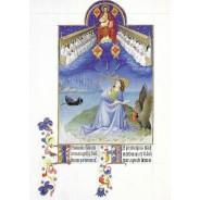 Carte d'art reproduction Très Riches Heures du Duc de Berry