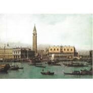 Carte postale Piazetta et Bacino San Marco Venise
