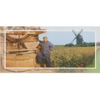 Le Meunier et son moulin, carte postale