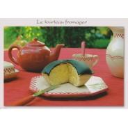 Tourteau fromager, carte postale recette