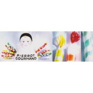 "Carte Sucettes ""Pierrot Gourmand"""