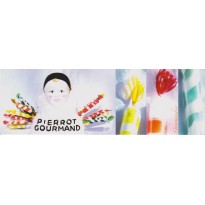 """Sucettes """"Pierrot Gourmand""""  photo ancien présentoir"""