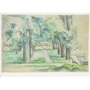 Allée des Marronniers au Jas de Bouffan - Paul Cézanne (1839-1906)
